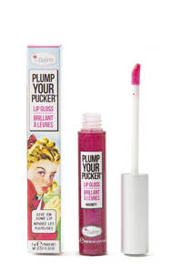 The Balm Plump Your Pucker lipgloss Magnify, Magenta