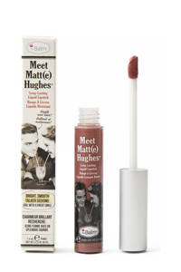 The Balm Meet Matte Hughes lippenstift - Committed, Pinky Nude