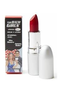 The Balm Balm Girls lippotlood- Mia Moore, rich creamy red