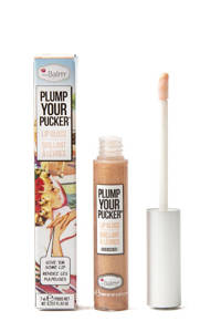The Balm Plump Your Pucker lipgloss Overstate, Golden