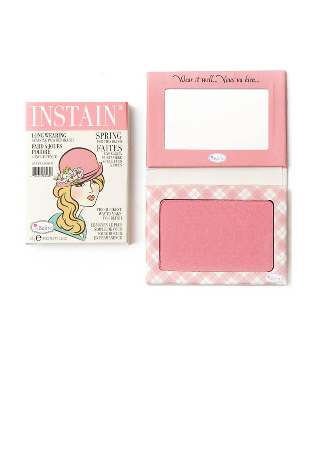 The Balm InStain blush - Argyle, petal pink