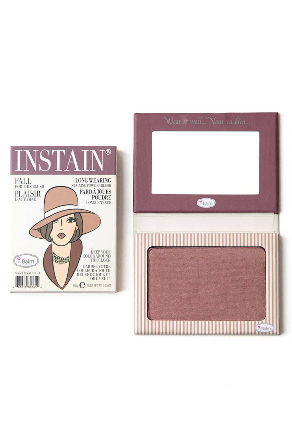 The Balm InStain blush - Pinstripe, Plum