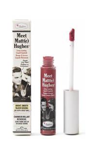 The Balm Meet Matte Hughes lippenstift - Brilliant, Pink