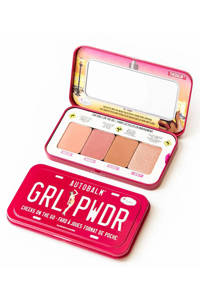 The Balm Autobalm- GRL PWDR blush palette