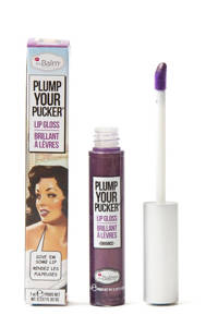 The Balm Plump Your Pucker lipgloss - Enhance