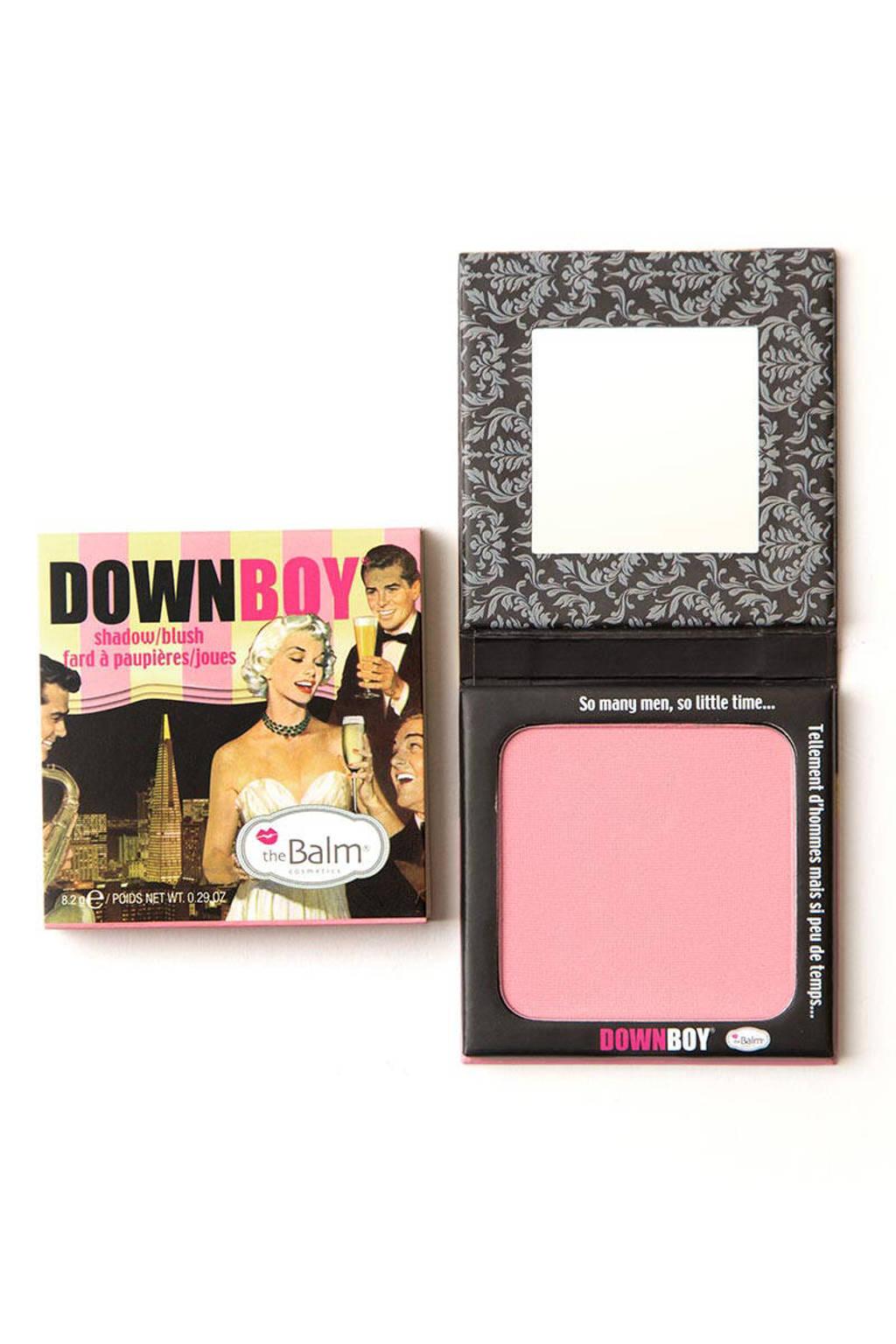 The Balm blush & oogschaduw - Down Boy, Baby pink