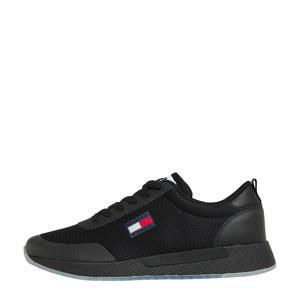 Flexi Runner  leren sneakers zwart