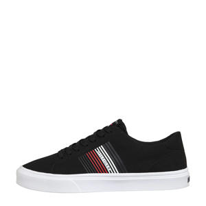 Lightweight Stripes Knit  sneakers zwart