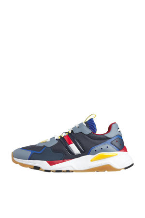 Cool Runner  chunky sneakers blauw