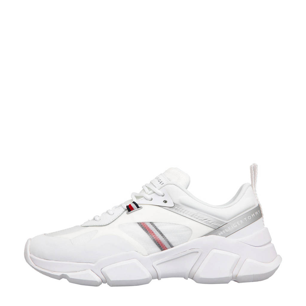 Tommy Hilfiger Technical Chunky  sneakers wit, Wit