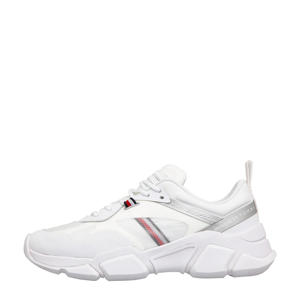 Technical Chunky  sneakers wit