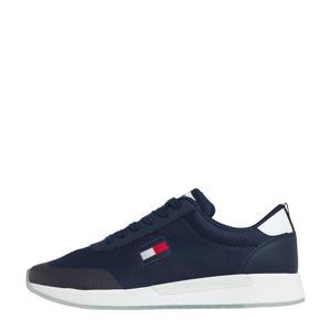 Flexi Runner  leren sneakers donkerblauw