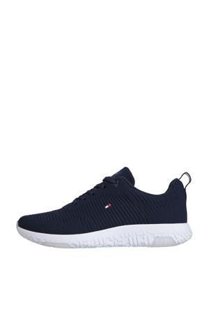Corporate Knit Rib Runner  sneakers donkerblauw