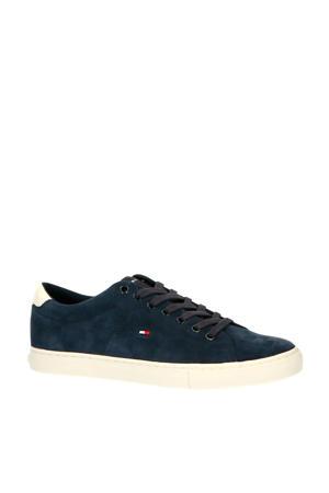 Seasonal Suede Vulc  sneakers donkerblauw