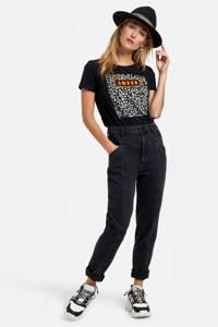 Eksept by Shoeby T-shirt met printopdruk zwart, Zwart