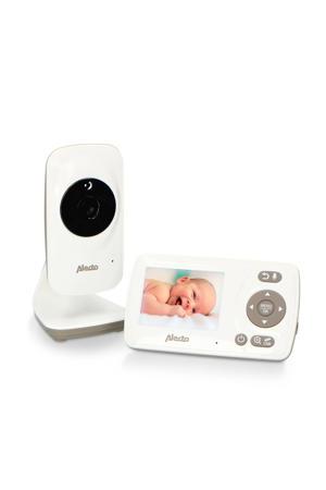 """DVM-71 babyfoon met camera en 2.4"""" kleurenscherm, wit/taupe"""