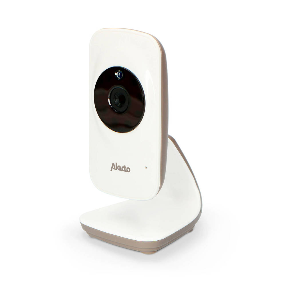 Alecto DVM-71C extra camera (voor DVM-71), wit/taupe, Wit