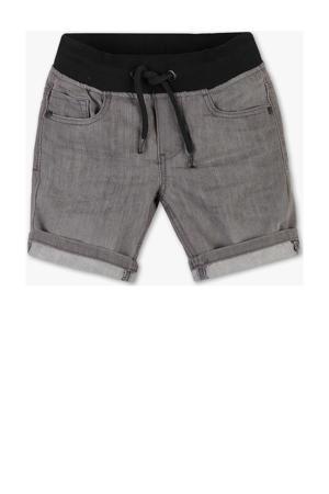 jeans bermuda grijs