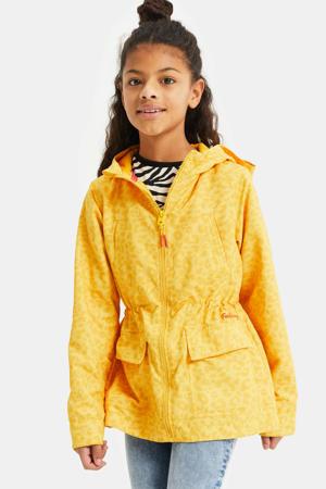 zomerjas met panterprint geel