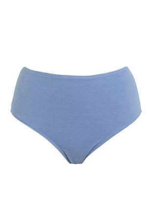 high waist bikinibroekje blauw