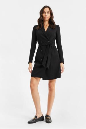 coat black uni
