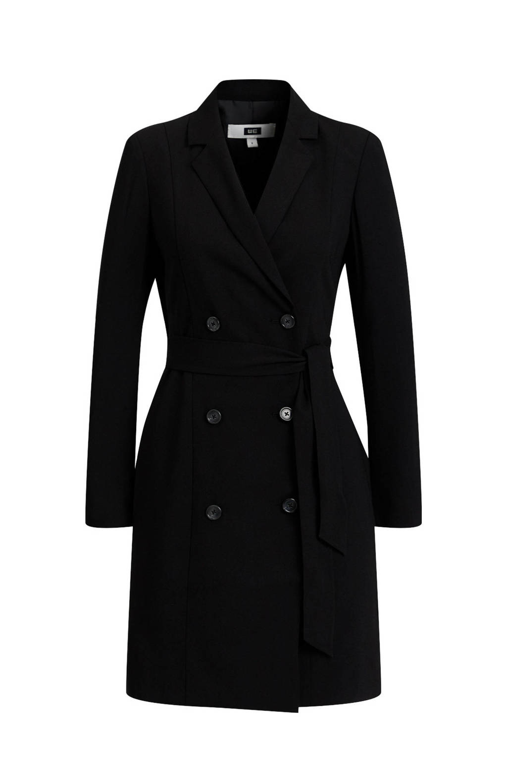 WE Fashion coat black uni, Black Uni