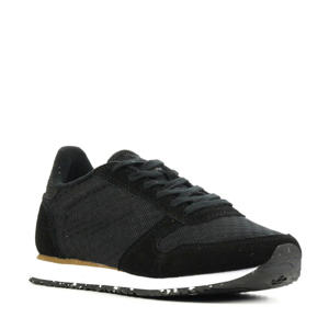 Ydun Sue Mesh II  suède sneakers zwart