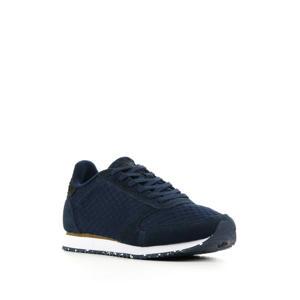 Ydun Sue Mesh II  suède sneakers donkerblauw