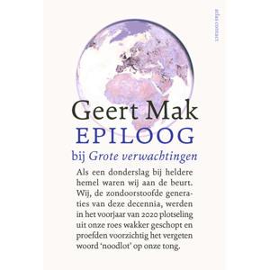Epiloog bij Grote verwachtingen - Geert Mak