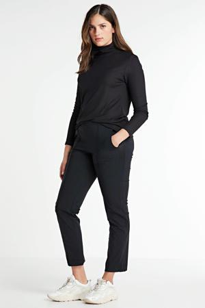 broek met zijstreep zwart