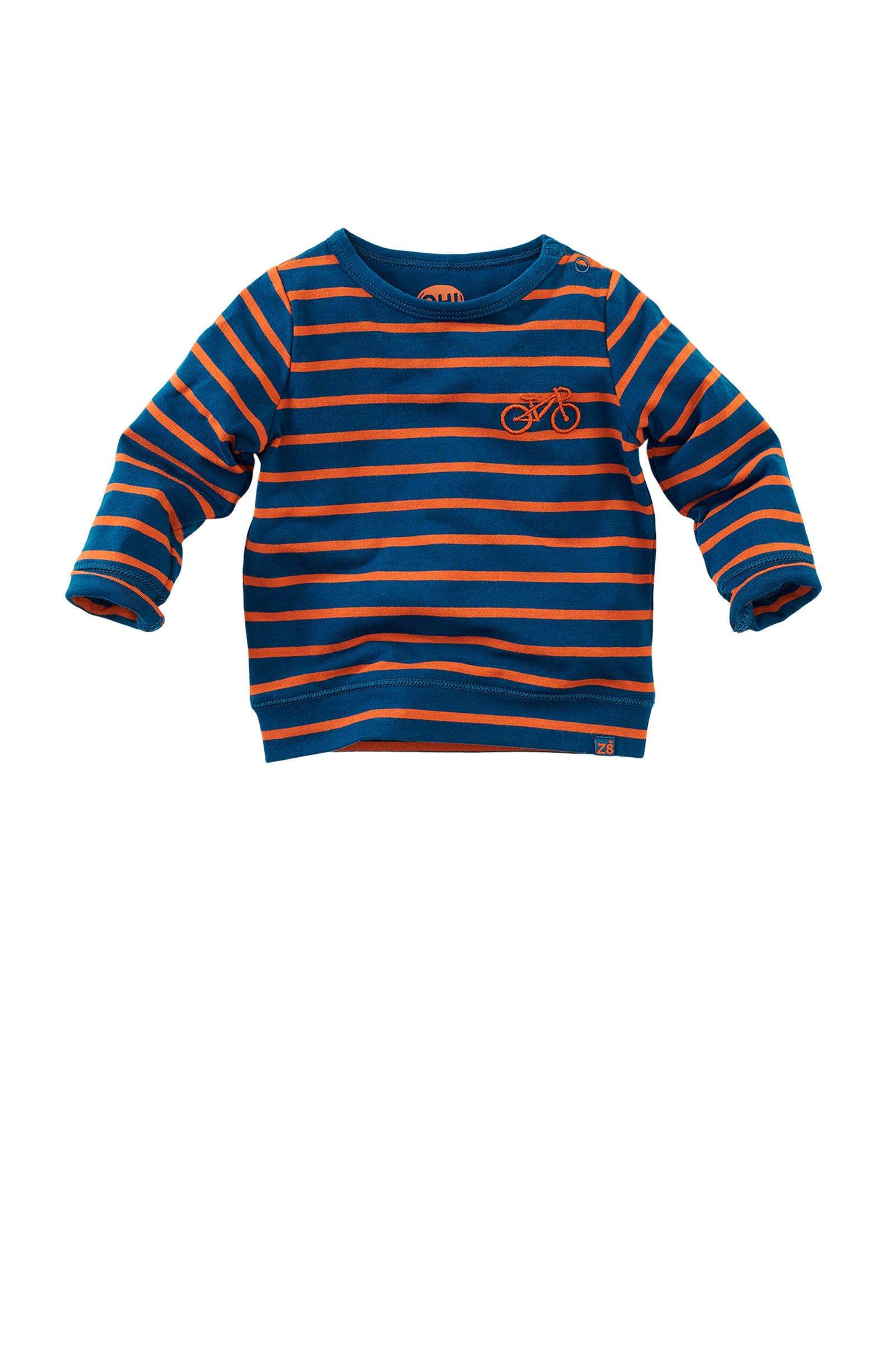 Z8 gestreept T shirt geeldonkerblauw   wehkamp
