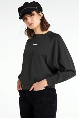 sweat trui zwart