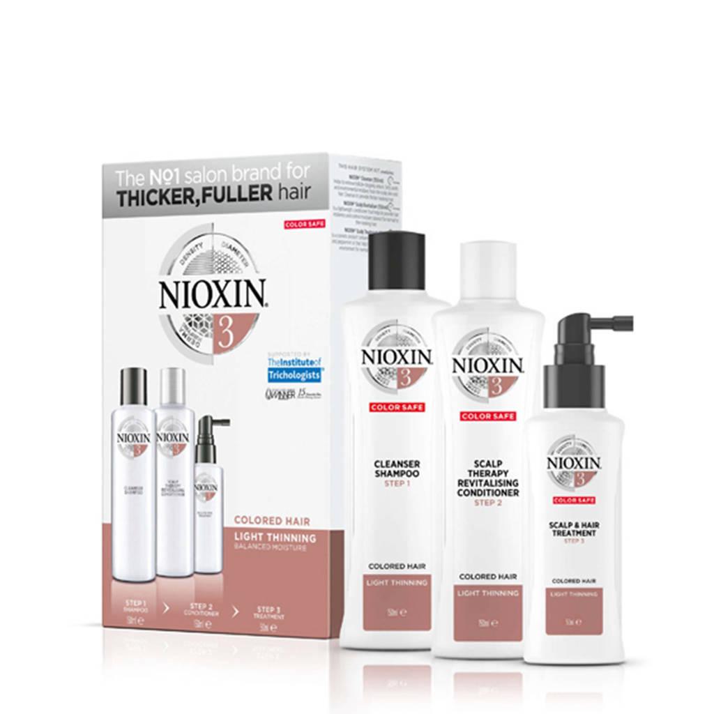 Nioxin Systeem 3 3-delige trial kit - 150 ml +150 ml +50 ml