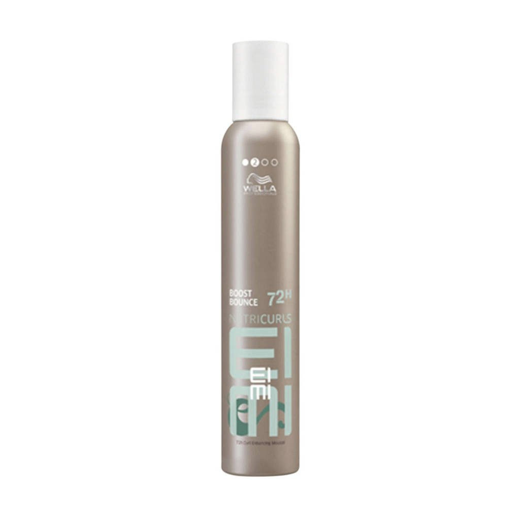 Wella Professionals EIMI Nutricurls Boost Bounce 72H curl enhancing mousse - 300 ml