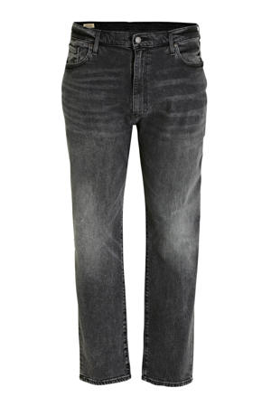 tapered fit jeans zwart