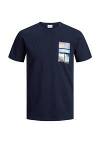 JACK & JONES CORE T-shirt met printopdruk donkerblauw, Donkerblauw