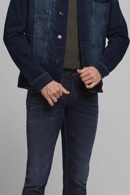 JACK & JONES JEANS INTELLIGENCE slim fit jeans Glenn dark denim, Dark denim