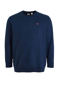 Levi's Big and Tall sweater donkerblauw, Donkerblauw