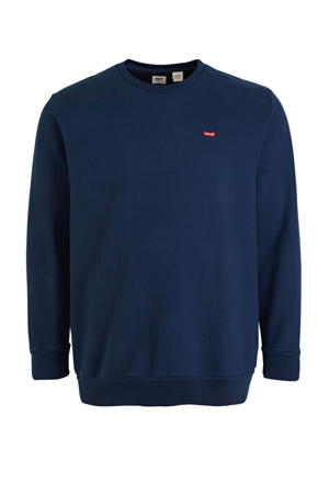 sweater Plus Size donkerblauw