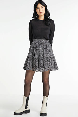 rok Kate met all over print en ruches blushy amber dots 1611