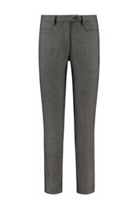 Circle of Trust straight fit pantalon Pammy grijs/multi, Grijs/multi