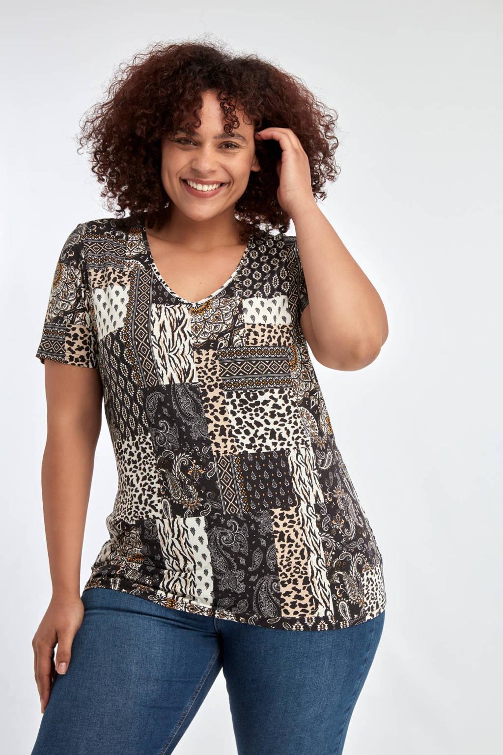 MS Mode T-shirt multi, Multi