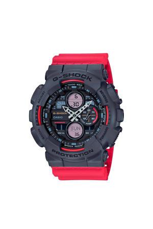 horloge GA-140-4AER rood/zwart