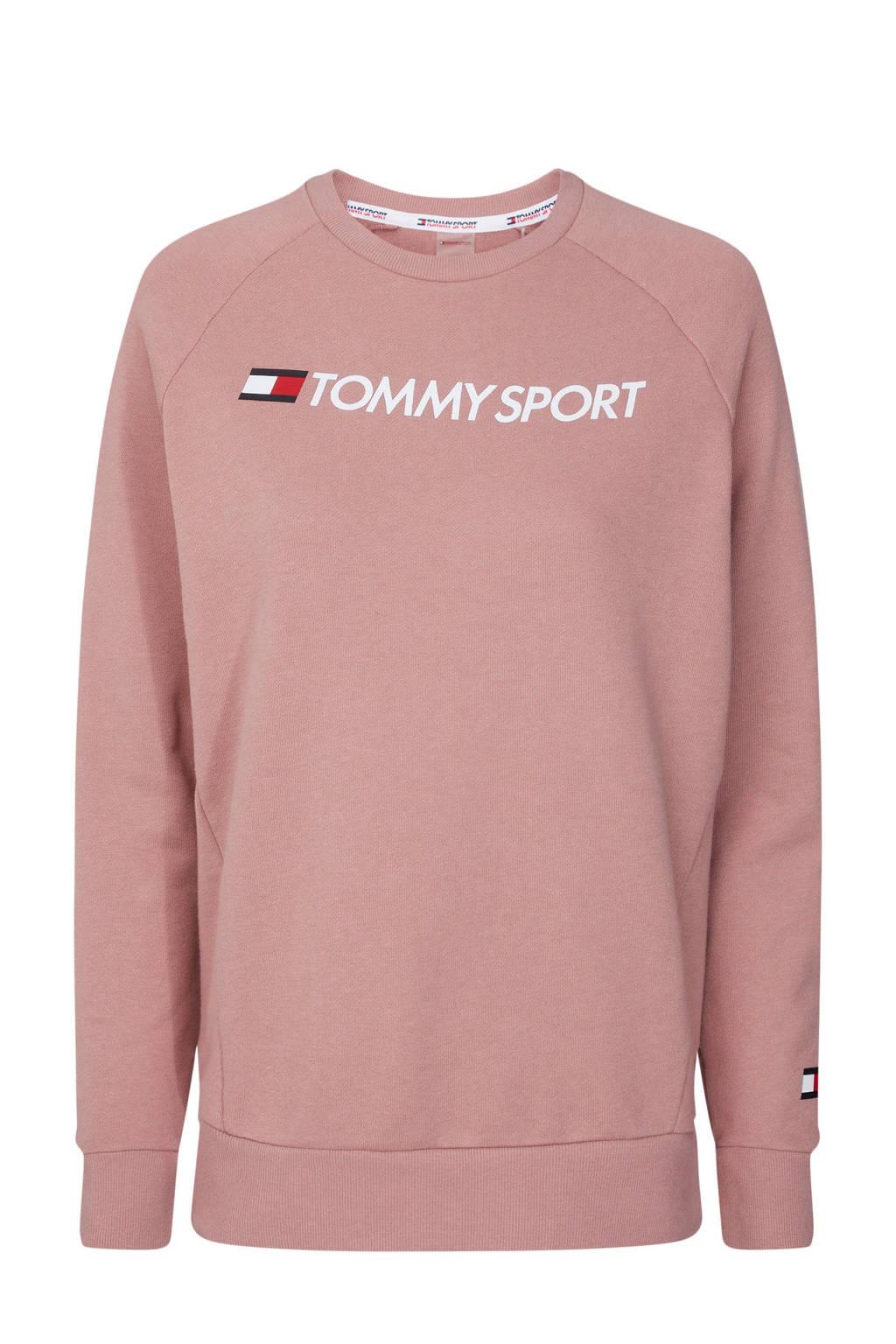Tommy Hilfiger Sport sportsweater oudroze, Oudroze