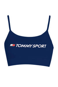 Tommy Hilfiger Sport level 1 sportbh donkerblauw, Donkerblauw