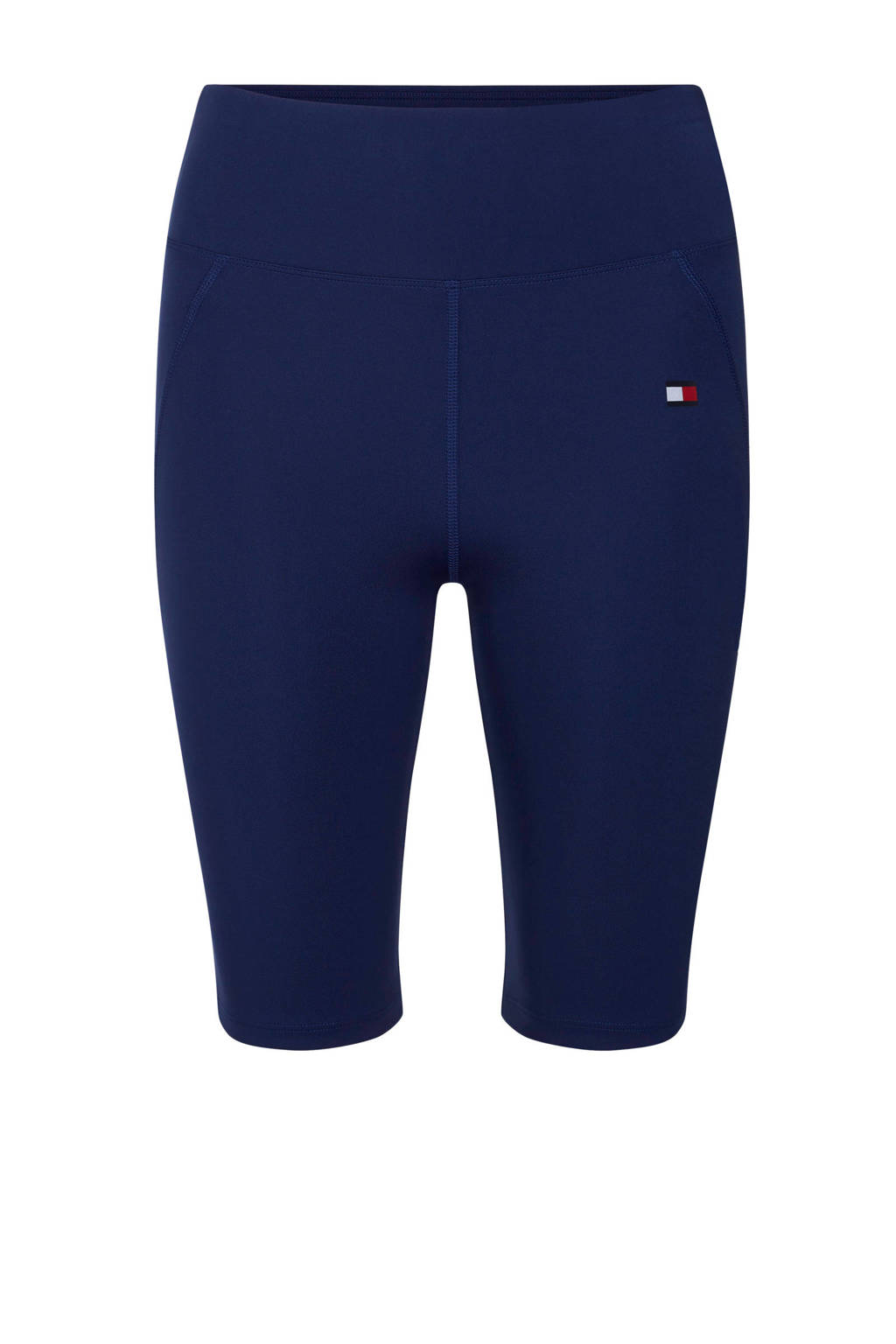 Tommy Hilfiger Sport cycling short donkerblauw, Donkerblauw