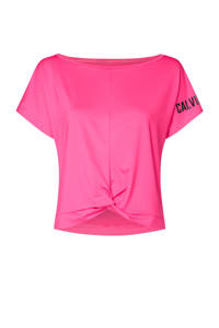 CALVIN KLEIN PERFORMANCE sport T-shirt fuchsia, Fuchsia