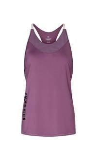 CALVIN KLEIN PERFORMANCE sporttop paars/wit, Paars/wit