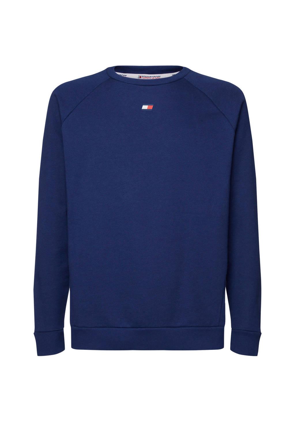 Tommy Hilfiger Sport   sweater donkerblauw, Donkerblauw