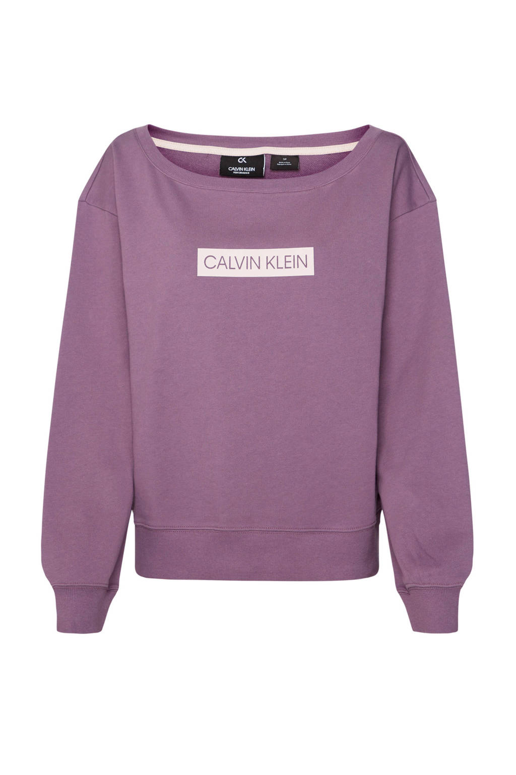 CALVIN KLEIN PERFORMANCE sportsweater paars, Paars